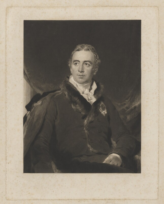 Robert Dundas, 2nd Viscount Melville, by Charles Turner, after  Sir Thomas Lawrence, published 1827 (1826) - NPG D7851 - © National Portrait Gallery, London