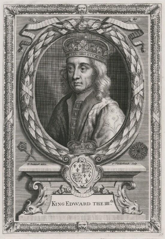 King Edward IV, by Peter Vanderbank (Vandrebanc), after  Unknown artist, published 1706 - NPG D7989 - © National Portrait Gallery, London