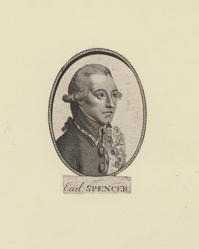 John Spencer, 1st Earl Spencer, after Unknown artist, 1765 or after - NPG D8044 - © National Portrait Gallery, London