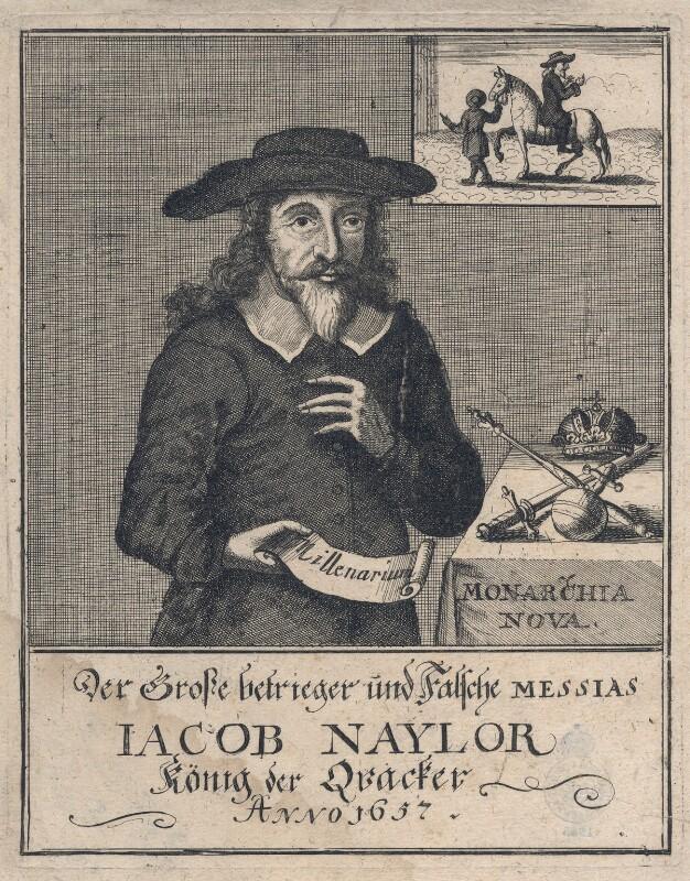 James Nayler, after Unknown artist, 1657 - NPG D8057 - © National Portrait Gallery, London