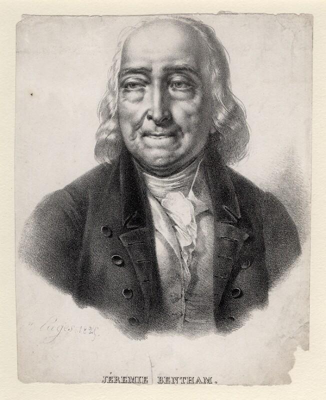 Jeremy Bentham, by Aimée Pages, 1829 - NPG D8064 - © National Portrait Gallery, London