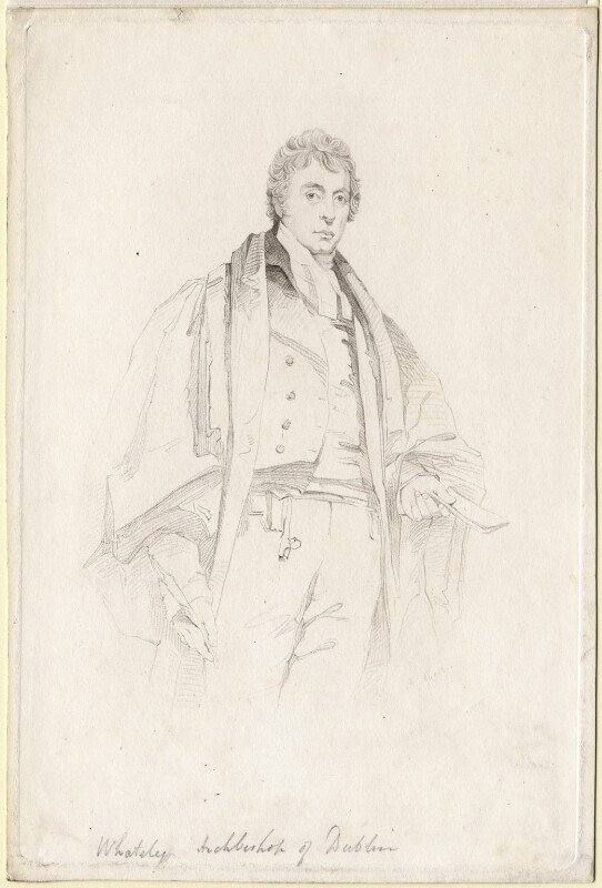 Richard Whately, by Henry Meyer, after  Charles Grey, 1830s-1840s - NPG D8299 - © National Portrait Gallery, London