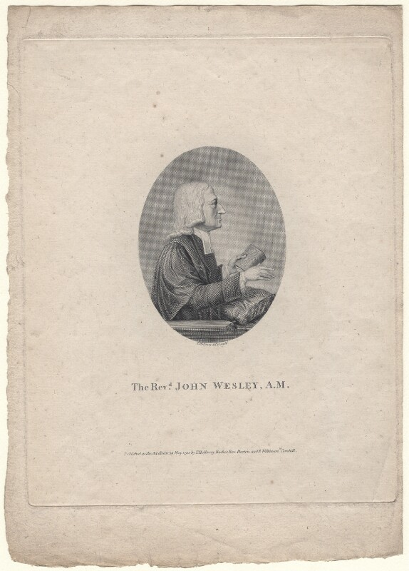 John Wesley, by Thomas Holloway, published 1791 - NPG D8303 - © National Portrait Gallery, London