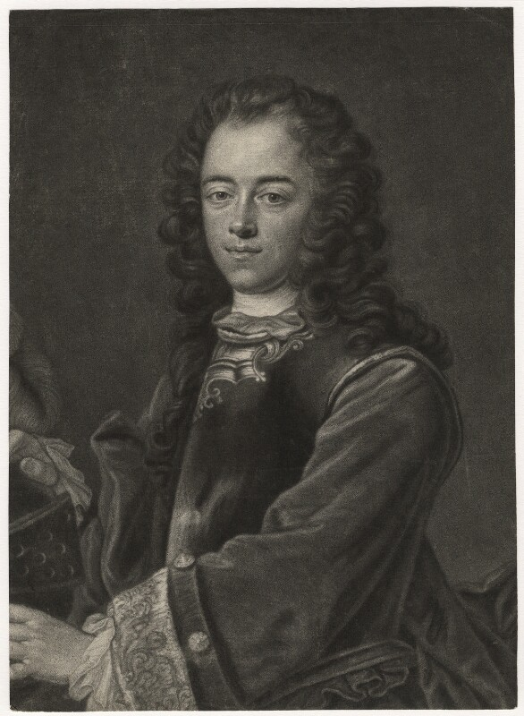 Peter I ('The Great'), by Bernard Vogel, after  Jan Kupecký (Kupetzki), published 1737 - NPG D8345 - © National Portrait Gallery, London