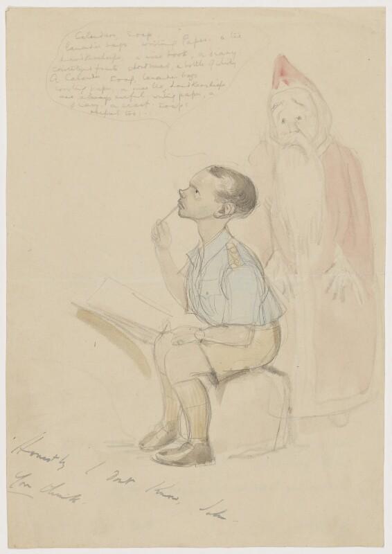 John Strickland Goodall, by John Strickland Goodall, 1940-1945 - NPG D8382 - © reserved; National Portrait Gallery, London