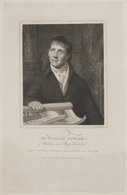 William Fowler, by William Bond, after  George Francis Joseph, 4 June 1810 - NPG D8490 - © National Portrait Gallery, London