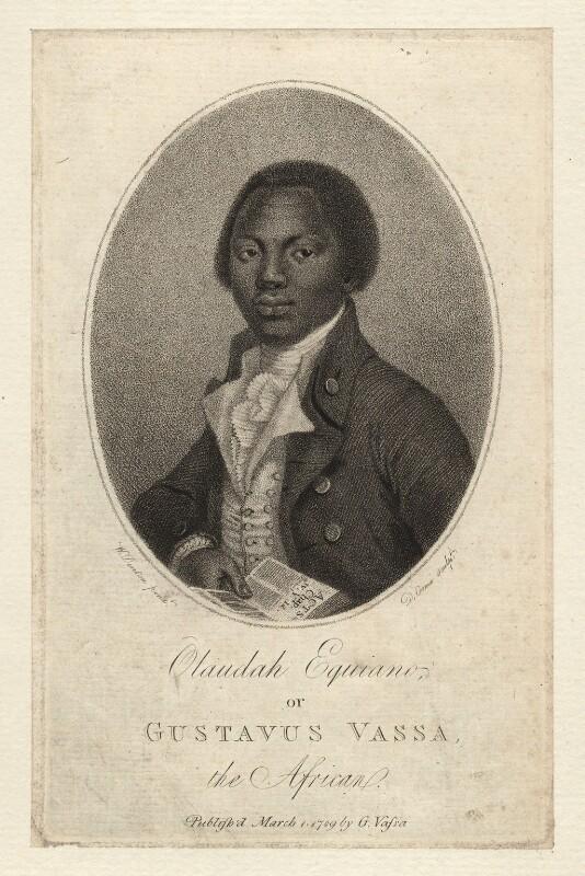 Olaudah Equiano ('Gustavus Vassa'), by Daniel Orme, after  W. Denton, published 1789 - NPG D8546 - © National Portrait Gallery, London