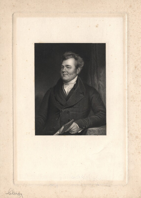 John Angell James, by John Cochran, after  Henry Room, mid 19th century - NPG D8559 - © National Portrait Gallery, London