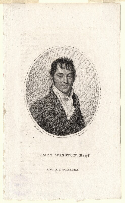 James Winston, by Thomas Cheesman, published by  Clement Chapple, after  Samuel De Wilde, published 1 November 1807 - NPG D8750 - © National Portrait Gallery, London