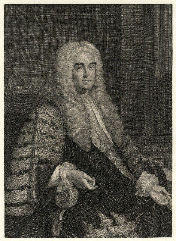 John Verney, by George Vertue, after  Allan Ramsay, 1741 or after - NPG D8777 - © National Portrait Gallery, London