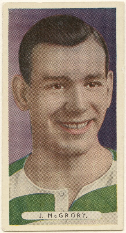 Jimmy McGrory, after Unknown artist, published 1934 - NPG D8790 - © National Portrait Gallery, London