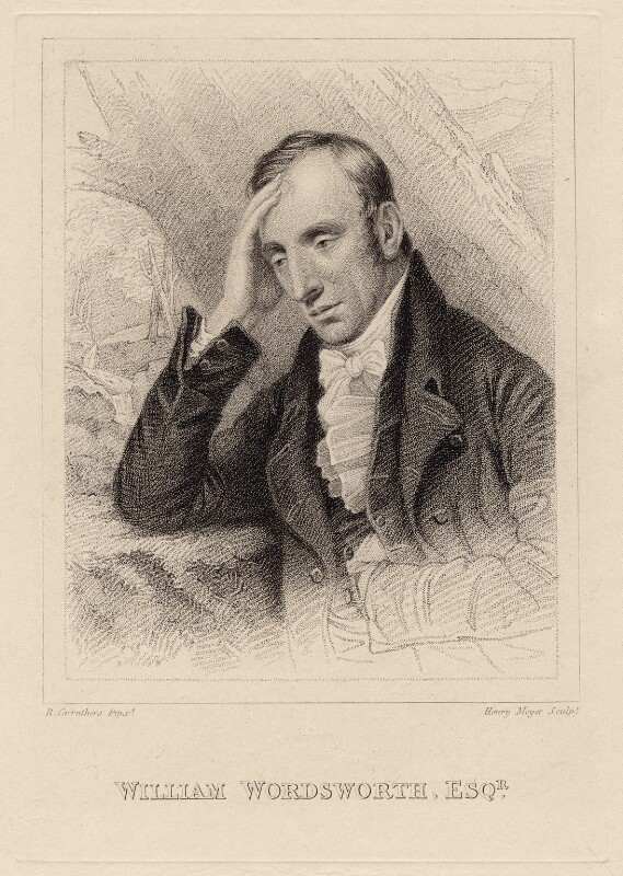 William Wordsworth, by Henry Meyer, after  Richard Carruthers, circa 1819 - NPG D8808 - © National Portrait Gallery, London