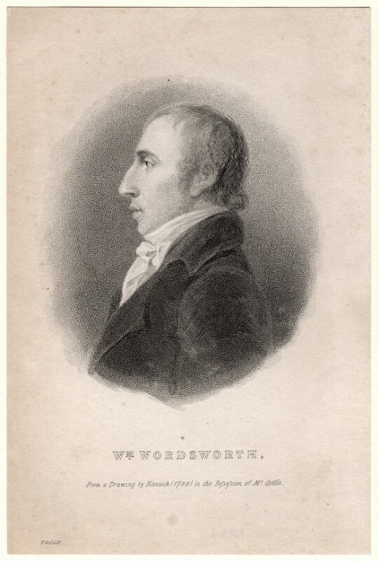 William Wordsworth, after Robert Hancock, (1798) - NPG D8810 - © National Portrait Gallery, London