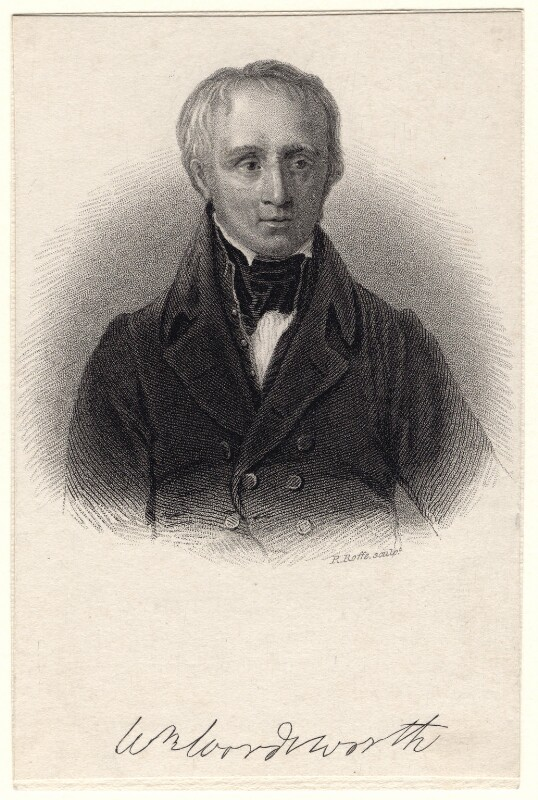 William Wordsworth, by Robert Cabell Roffe, after  Sir William Boxall, circa 1831-1835 - NPG D8812 - © National Portrait Gallery, London