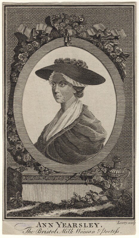 Ann Yearsley, by Wilson Lowry, after  Unknown artist, published 1787 - NPG D8852 - © National Portrait Gallery, London