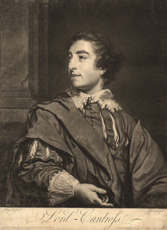 David Steuart Erskine, 11th Earl of Buchan when Viscount Cardross, by John Finlayson, after  Sir Joshua Reynolds, published 1765 - NPG D893 - © National Portrait Gallery, London