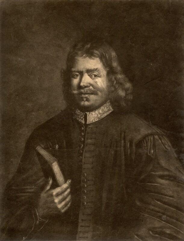 John Bunyan, by Richard Houston, after  Thomas Sadler, (1685) - NPG D916 - © National Portrait Gallery, London