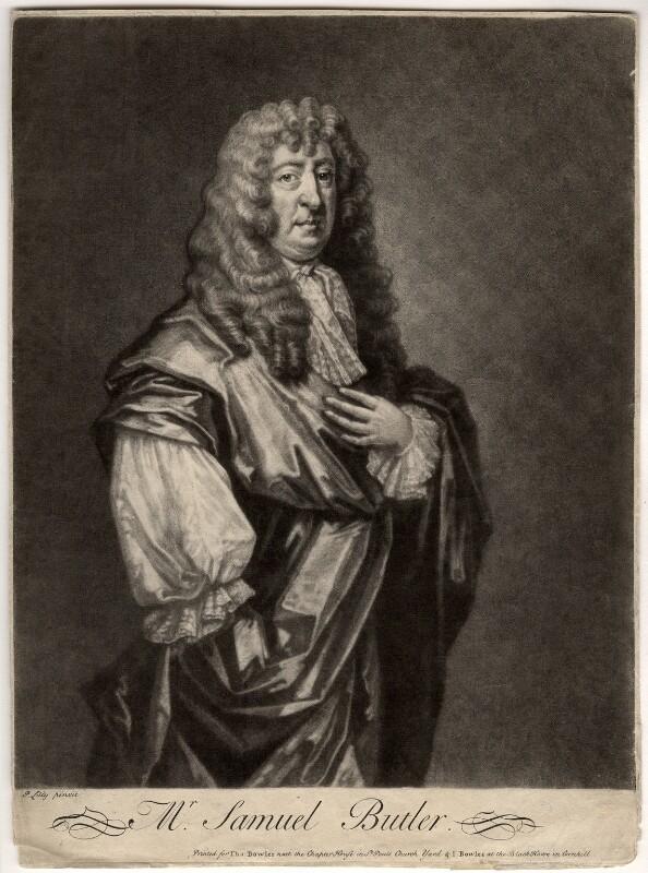 Samuel Butler, after Gilbert Soest, circa 1680 - NPG D939 - © National Portrait Gallery, London