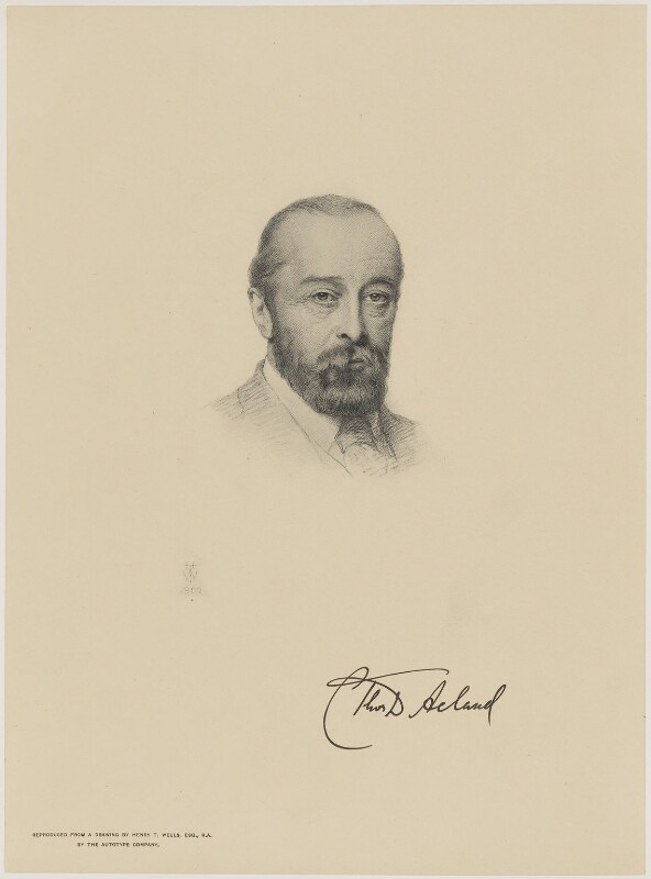 Sir (Charles) Thomas Dyke Acland, 12th Bt, after Henry Tanworth Wells, 1900 - NPG D9585 - © National Portrait Gallery, London