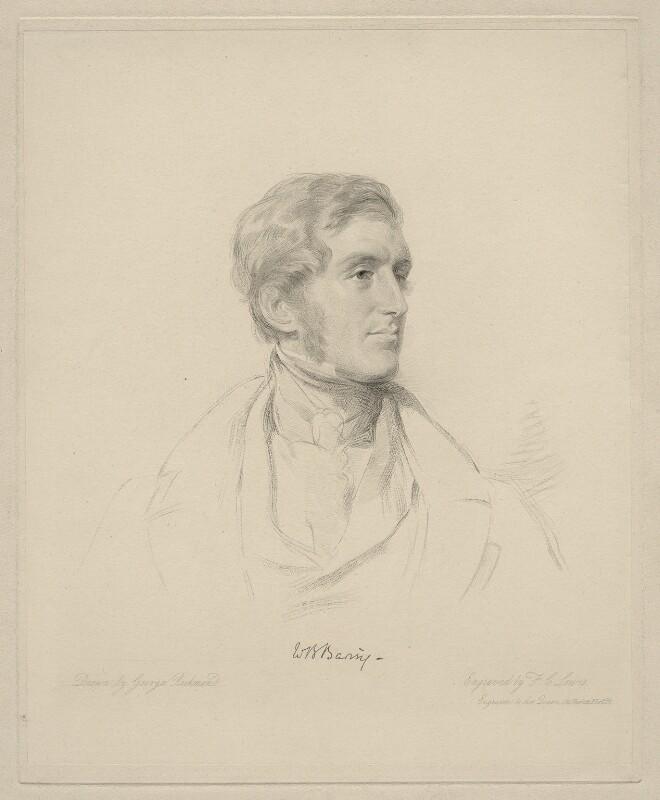 (William) Bingham Baring, 2nd Baron Ashburton, by Frederick Christian Lewis Sr, after  George Richmond, (1841) - NPG D20637 - © National Portrait Gallery, London