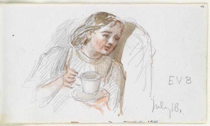 Eleanor Vere Boyle (née Gordon), by Louisa Anne Beresford (née Stuart), Marchioness of Waterford, 18 July 1888 - NPG D23146(48) - © National Portrait Gallery, London