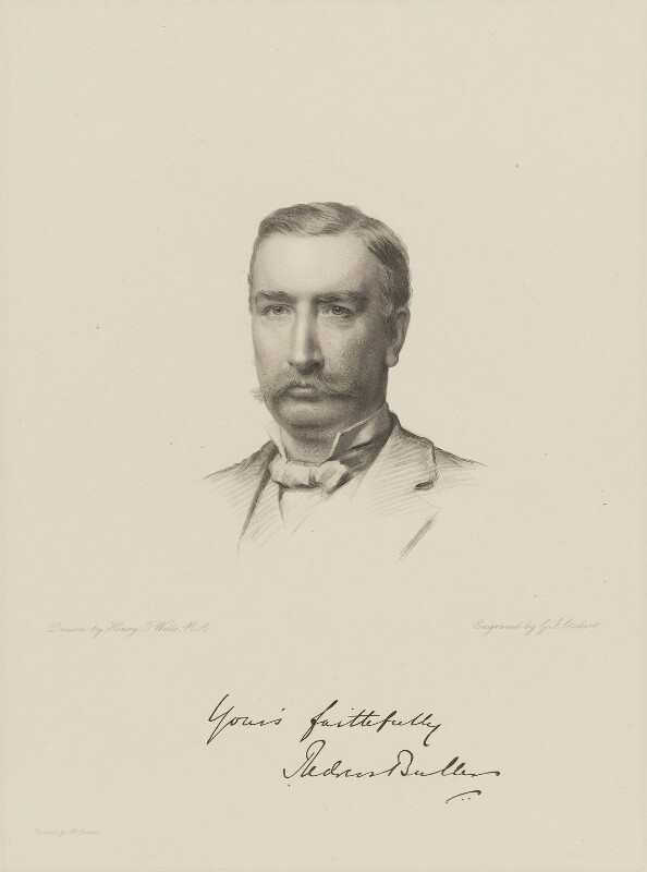 Sir Redvers Henry Buller, by George J. Stodart, after  Henry Tanworth Wells, late 19th century - NPG D9658 - © National Portrait Gallery, London