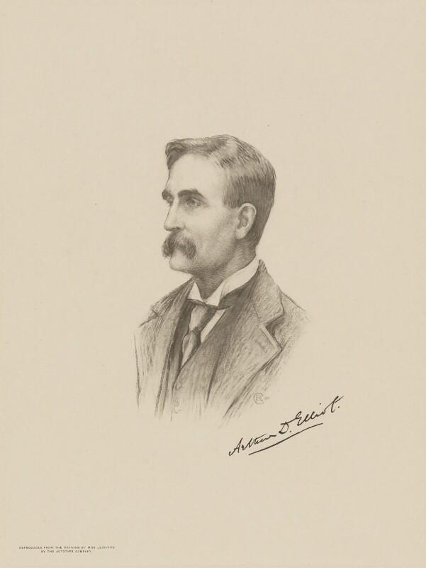 Arthur Ralph Douglas Elliot, after Miss C.B. Leighton, (1905) - NPG D9732 - © National Portrait Gallery, London