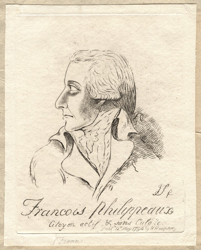 Sir Philip Francis ('Francois Philippeaux'), by James Sayers, published by  Hannah Humphrey, published 12 May 1794 - NPG D9755 - © National Portrait Gallery, London