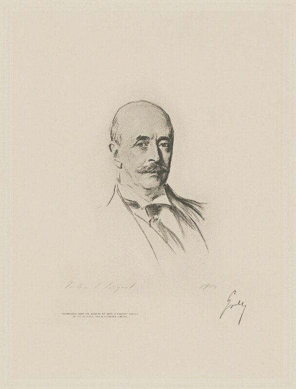 Albert Grey, 4th Earl Grey, by The Autotype Company, after  John Singer Sargent, (1910) - NPG D9776 - © National Portrait Gallery, London