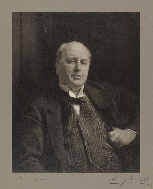 Henry James, after John Singer Sargent, before 1929 (1913) - NPG D9807 - © National Portrait Gallery, London
