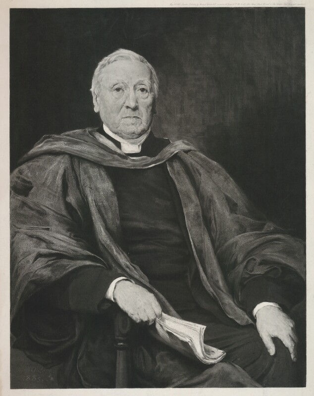 Benjamin Hall Kennedy, after Walter William Ouless, published 1886 (1885) - NPG D9814 - © National Portrait Gallery, London