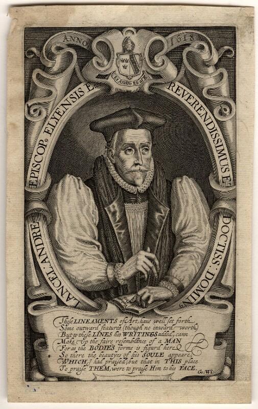 Lancelot Andrewes, by Simon de Passe, 1618 - NPG D985 - © National Portrait Gallery, London