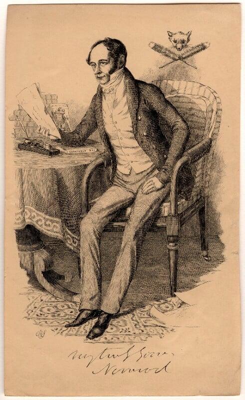 Charles James Apperley, after Unknown artist, 1820s-1830s - NPG D989 - © National Portrait Gallery, London