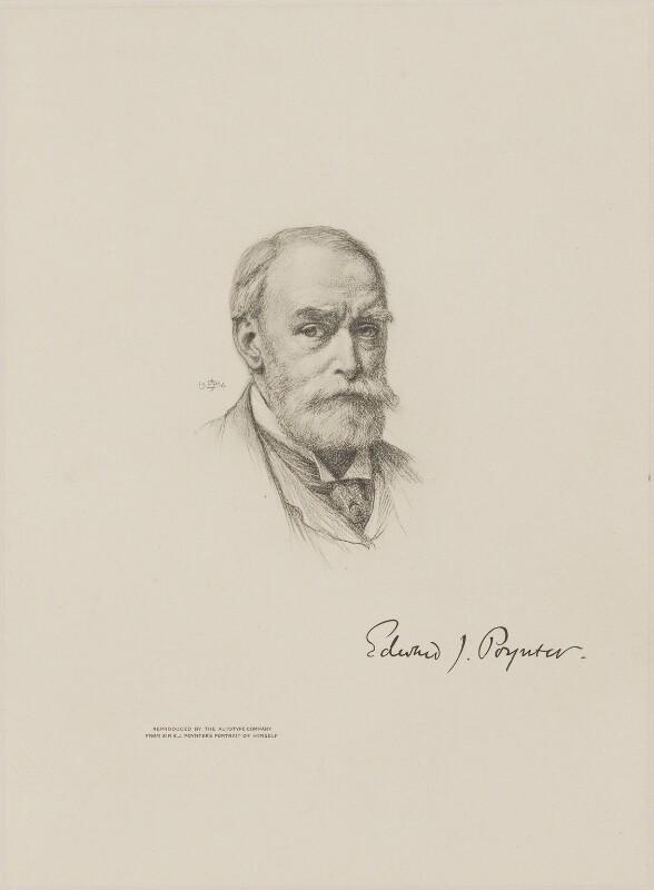 Sir Edward John Poynter, 1st Bt, after Sir Edward John Poynter, 1st Bt, 1904 - NPG D9904 - © National Portrait Gallery, London