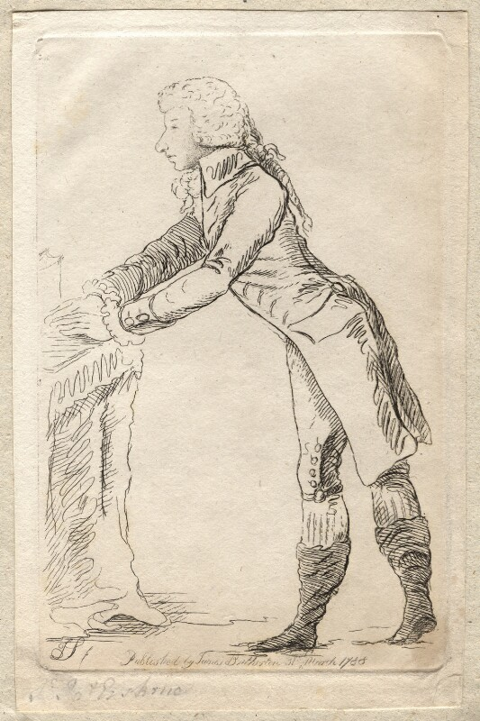 James St Clair-Erskine, 2nd Earl of Rosslyn, by James Sayers, published by  James Bretherton, published 31 March 1788 - NPG D9933 - © National Portrait Gallery, London