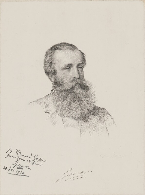 John Poyntz Spencer, 5th Earl Spencer, by Joseph Brown, after  Henry Tanworth Wells, 1878 or after - NPG D9944 - © National Portrait Gallery, London