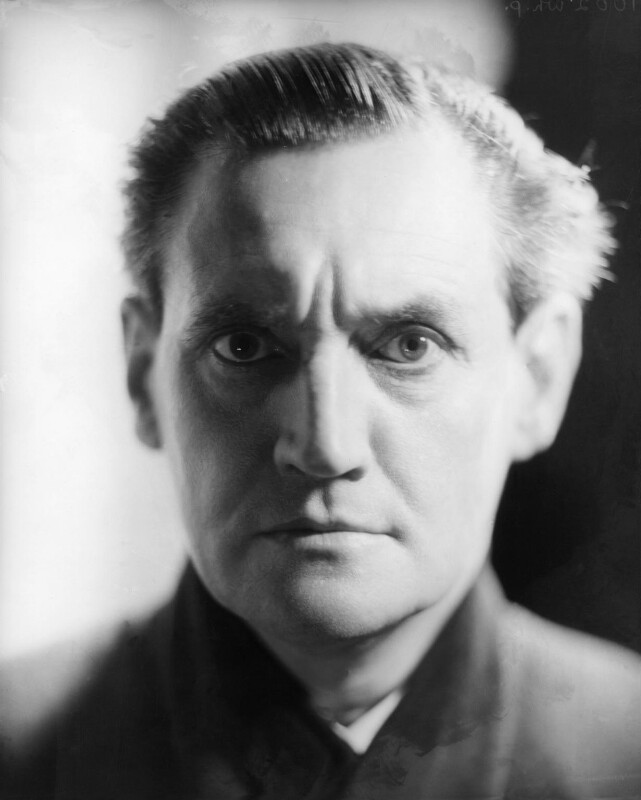 Henry Hinchliffe Ainley, by Howard Coster, July 1929 - NPG x10299 - © National Portrait Gallery, London