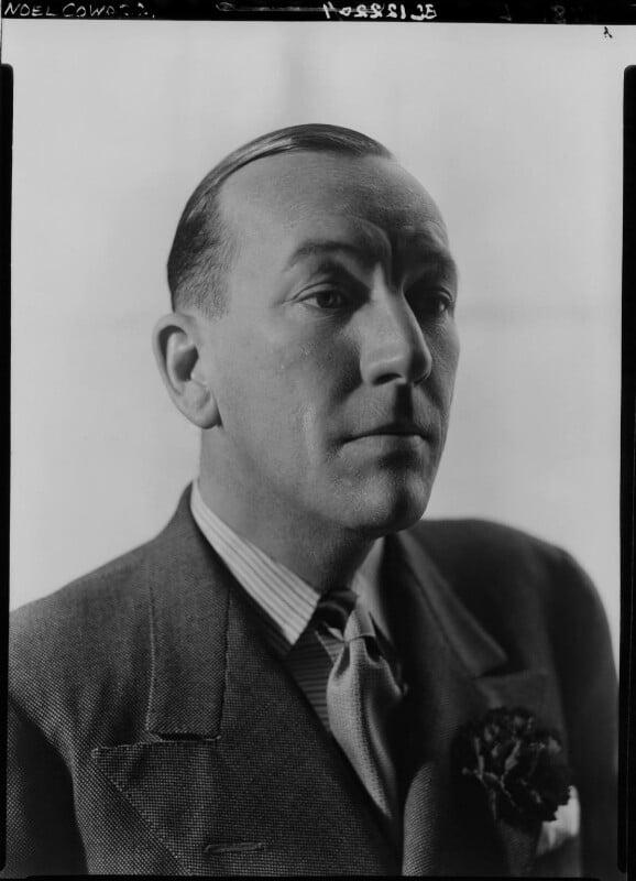 Noël Coward, by Howard Coster, 1939 - NPG x11064 - © National Portrait Gallery, London