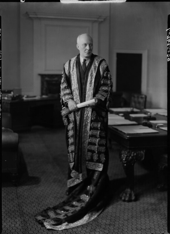 (Edward) Hugh John Neale Dalton, Baron Dalton, by Howard Coster, 1945 - NPG x11194 - © National Portrait Gallery, London