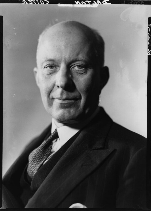 (Edward) Hugh John Neale Dalton, Baron Dalton, by Howard Coster, 1940 - NPG x11197 - © National Portrait Gallery, London