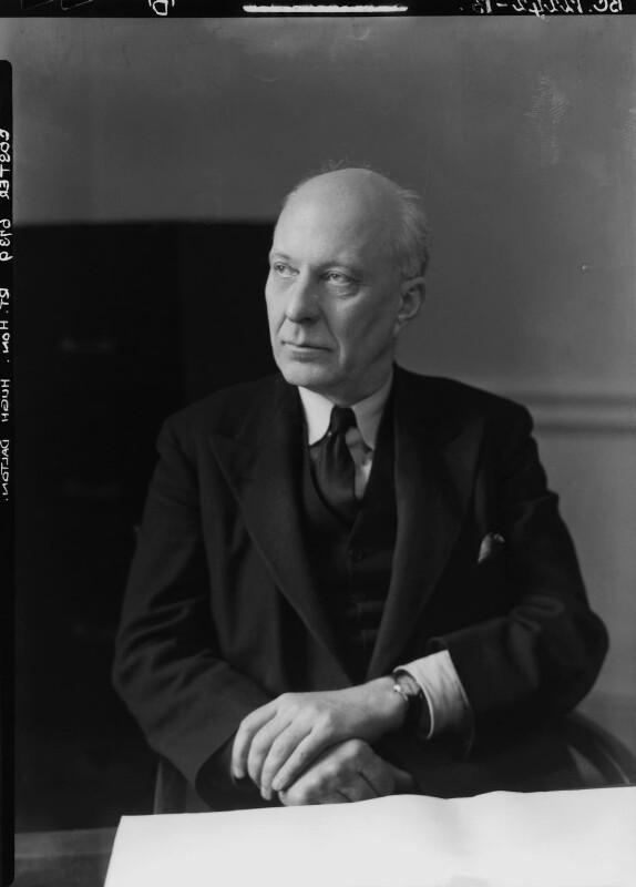 (Edward) Hugh John Neale Dalton, Baron Dalton, by Howard Coster, 1945 - NPG x11199 - © National Portrait Gallery, London