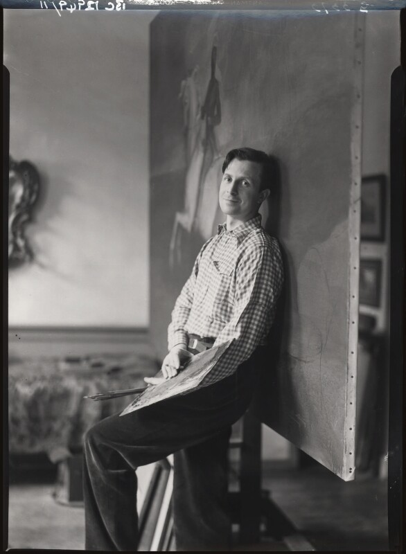 Rex Whistler, by Howard Coster, 1936 - NPG x12299 - © National Portrait Gallery, London