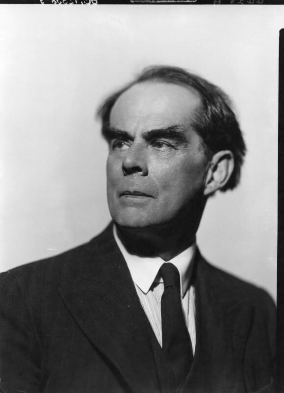 John Rowland Fothergill, by Howard Coster, 1939 - NPG x12398 - © National Portrait Gallery, London