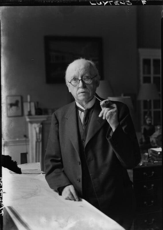 Sir Edwin Lutyens, by Howard Coster, 1942 - NPG x14401 - © National Portrait Gallery, London