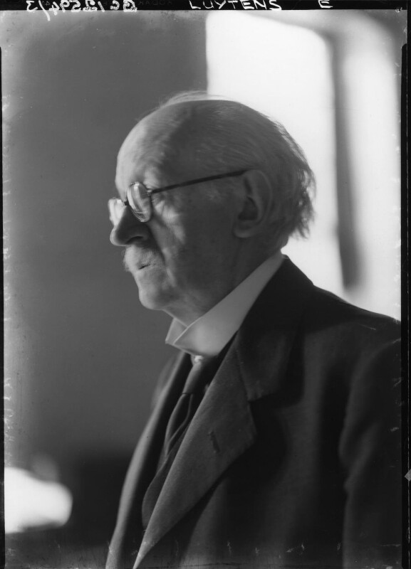 Sir Edwin Lutyens, by Howard Coster, 1942 - NPG x14402 - © National Portrait Gallery, London