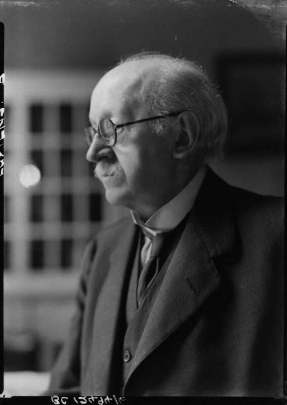 Sir Edwin Lutyens, by Howard Coster, 1942 - NPG x14405 - © National Portrait Gallery, London