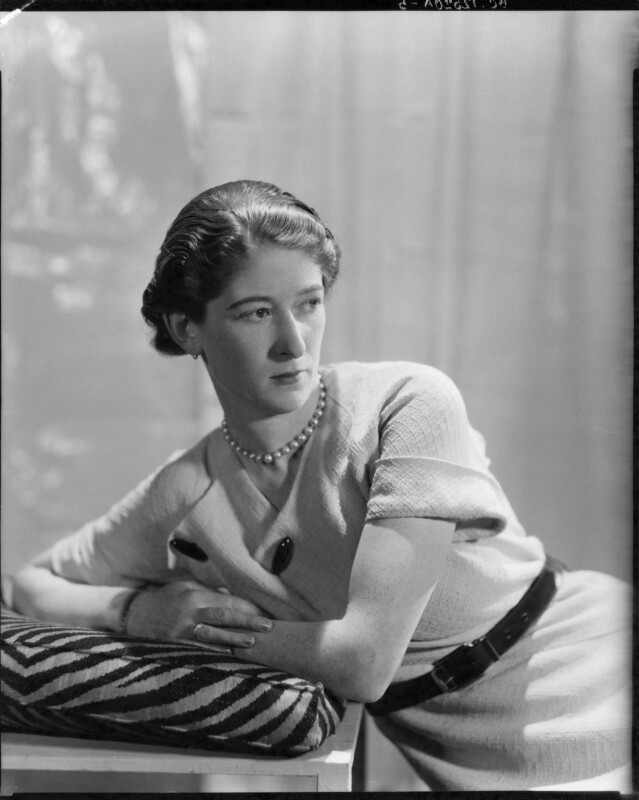 (Winifred Gisela) Yvonne Ffrench, by Howard Coster, 1934 - NPG x16610 - © National Portrait Gallery, London