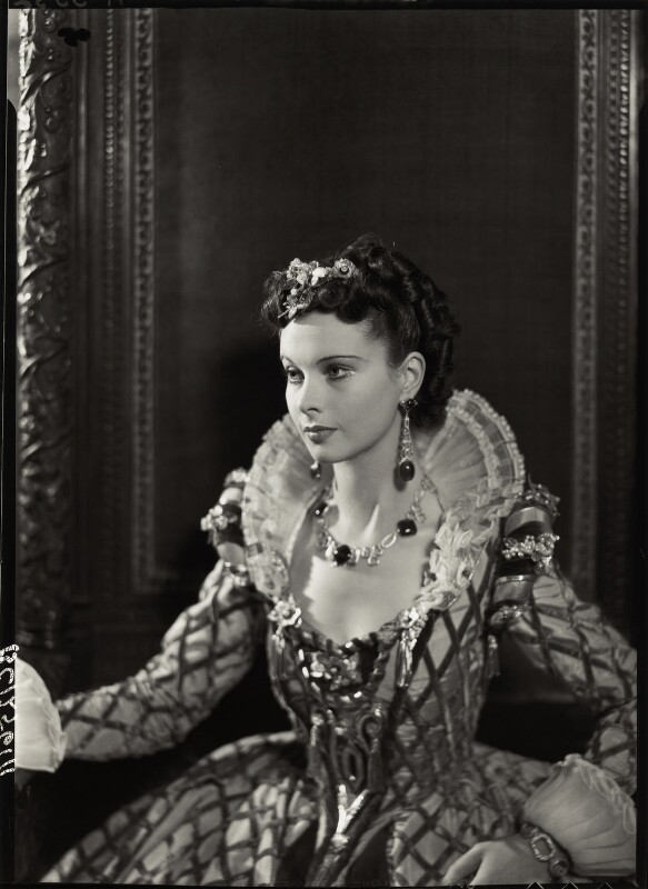 Vivien Leigh as Cynthia in 'Fire Over England', by Howard Coster, 1936 - NPG x19527 - © National Portrait Gallery, London