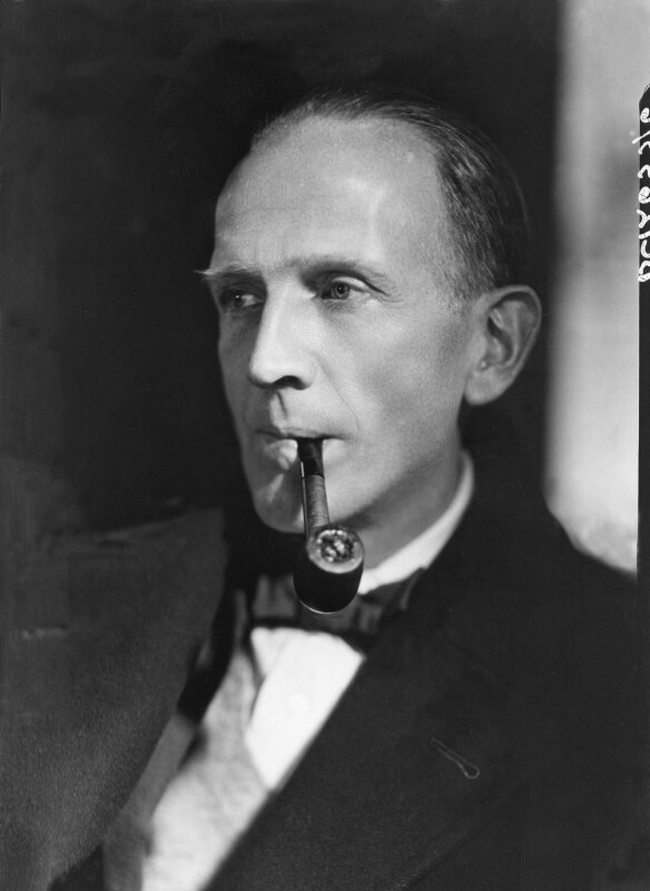 A.A. Milne, by Howard Coster, 1926 - NPG x19565 - © National Portrait Gallery, London