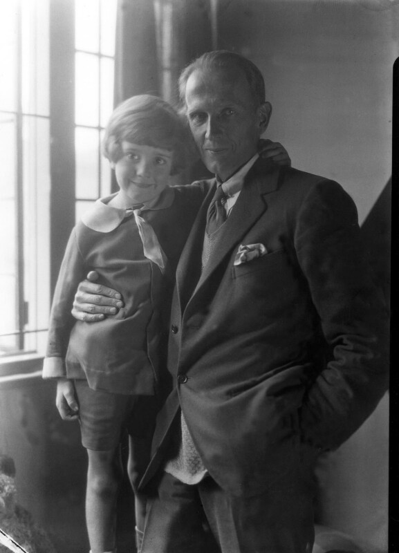 A.A. Milne; Christopher Robin Milne, by Howard Coster, 1926 - NPG x19578 - © National Portrait Gallery, London